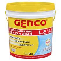 Cloro Granulado 3x1 GENCO 10 kg