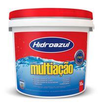 Cloro para piscina Hidroazul Multiação 10KG
