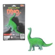 Colecao estica e puxa dinossauro