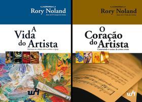 Combo - 2 itens: A Vida do Artista e O Coração do Artista Capa comum 2019 Rory Noland