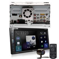 "COMP Kit Central Multimídia Pioneer AVH-Z5280TV 2 DIN DVD Tela Touch 6,8"" USB BT TV Digital + Câmera de ré"