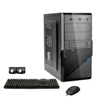 Computador Corporate Intel Dual Core 4gb Hd 500 Gb Kit Multimídia