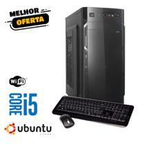 Computador Cpu Core I5 8gb Ddr3  hd 500 gb Linux