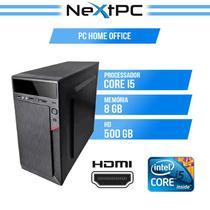 Computador i5 8 gb hd 500 Desktop NextPC