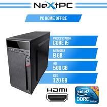 Computador i5 8 gb ssd 120 hd 500 Desktop NextPC
