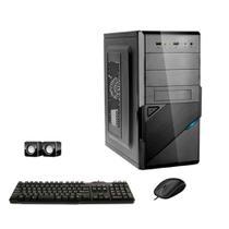 Computador Icc Intel Core 2 Duo E8400 4gb de Ram Hd 500 Gb Kit Multimídia