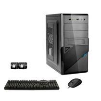 Computador Icc Intel Dual Core 4gb Hd 500 Gb Kit Multimídia