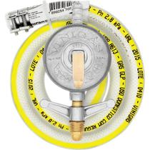 Conjunto Regulador de Pressão para Gás GLP para Fogão Com Mangueira VINIGÁS UN