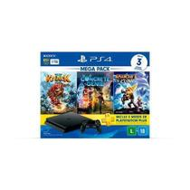 Console playstation 4  1 tb mega pack family