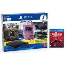 Console Playstation 4 Slim 1TB Hits Bundle v5 + Marvel's Spider-Man - PS4