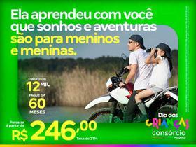 Consórcio de Moto 12 Mil - Dia das Crianças