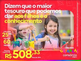 Consórcio de Serviços 25 Mil - Dia das Crianças