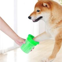 Copo Limpador Limpa Patas de Cachorro Verde