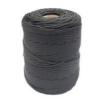Corda de Polipropileno Elastobor Trancada Preta 3MM 1KG