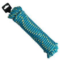 Corda de Seda Poliéster Trançada 10 MM x 15 Metros - Várias Cores - ARTEPLAS