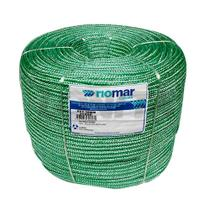 Corda Multiuso Trançada 10mm Verde - Rolo 195 Mts - Riomar