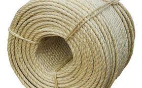 Corda Sisal Natural Resistente Acabamento Fino 10mm 30 Mts