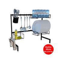 Cozinha Autossustentável Com Escorredor de Louça Luxo 63cm