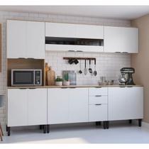 Cozinha Compacta Thela Anis 3 Peças Aveiro/Branco