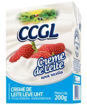 Creme de Leite UHT 17% de Gordura 200g - Nova receita - Caixa com 20 unidades