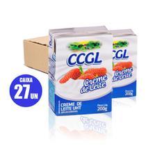 Creme leite ccgl 200g 20% gord 27un