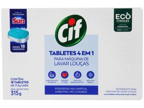 Detergente Tablete Lava-Louças Cif