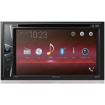 DVD 2 Din Automotivo Pioneer AVH-G218bt 6,2 Polegadas Bluetooth Entrada Câmera de Ré