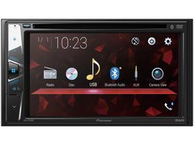 "DVD Automotivo Pioneer AVH-G228BT Bluetooth - Touch 6,2"" 23W RMS USB Auxiliar"