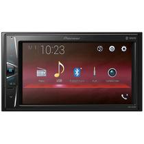 "DVD Automotivo Pioneer MVH-G218BT, 2 DIN, Tela 6,2"", Entrada USB, Bluetooth"