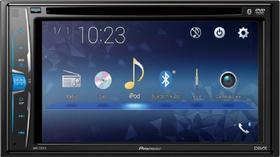 "DVD Automotivo Power Acoustik 6.2"" Built-in Bluetooth In-Dash CD/DVD/DM Receiver - Preto PD-623B"