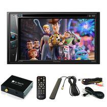 DVD Player Automotivo 2 DIN Pioneer AVH-G228BT Bluetooth Com Entrada USB + Sintonizador TV Digital