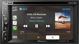 "DVD Player Automotivo Pioneer 6.2"" Bluetooth CD/DVD/DM -AVH-1550NEX Preto"
