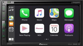 "DVD Player Automotivo Pioneer 6.8"" Android Auto/ Bluetooth CD/DVD/DM -AVH-2550NEX Preto"