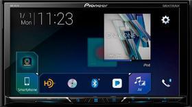 "DVD Player Automotivo Pioneer 7"" Bluetooth CD/DVD/DM -AVH-601EX Preto"
