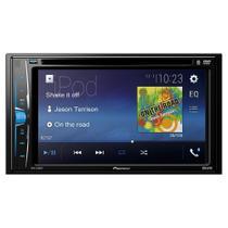 DVD Player Automotivo Pioneer AVH-A208BT, MP3, CD/USB, DVD, Rádio AM/FM