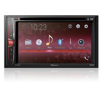 "DVD Player Automotivo Pioneer AVH-A218BT 2 DIN Tela Touch 6,2"" USB Bluetooth e Controle Remoto"