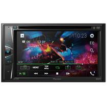 "DVD Player Automotivo Pioneer AVH-G218BT 2-DIN Tela de 6.2"" Bluetooth USB Entrada Auxiliar"