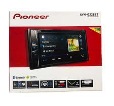 Dvd Player Automotivo Pioneer Avh-g228bt leitor cd Bluetooth Usb Controle Remoto