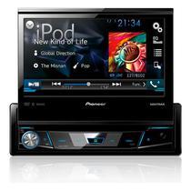 "DVD Player Automotivo Pioneer AVH-X7780TV Tela 7"" com TV Digital USB Entrada Auxiliar Bluetooth"