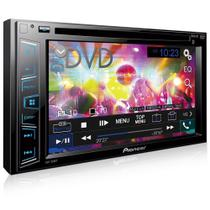 Dvd Player Pioneer Avh-288bt 6.2 Polegadas 2 Din Bluetooth Usb Aux