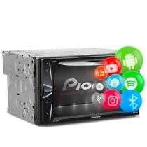 "DVD Player Pioneer AVH-G228BT 6.2"" 2 Din Touch Screen Bluetooth CD DVD USB AUX RCA FM AM MP3 WMA"