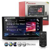 "Dvd Player Pioneer Mixtrax 2 Din Avh X5880Tv 7"" Tv Digital Bluetooth Usb"