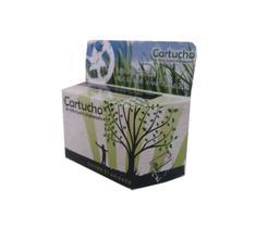 Embalagem Neutra Para Cartuchos Jato De Tinta Compatível 100 Unidades Eco