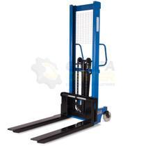 Empilhadeira Manual para 1.000kg com Elevação 1,6m e Garfos Ajustáveis - Bremen 2310