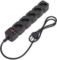 Epe 205 Filtro De Linha Protetor 5 Tomadas Intelbras preto