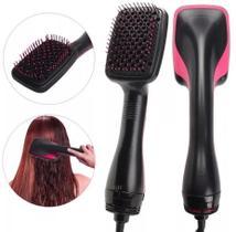 Escova Alisadora E Secadora De Cabelo Elétrica Hair