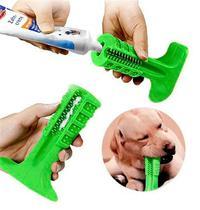 Escova de Dente Canina Para Cachorro Cão Mordedor Brinquedo Limpeza Pet 17x12cm Grande