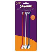 Escova de Dente Dupla para Cachorro Jambo com 3 Unidades