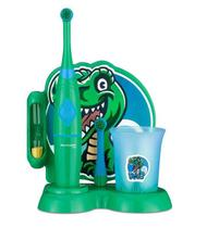 Escova Dental Elétrica Infantil Funny Brush Fred Dinossauro Multilaser - HC053