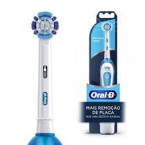 Escova Dental Elétrica Oral-B Pró-Saúde+ 2 Pilhas
